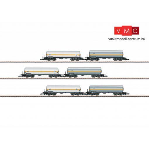 Märklin 82189 Gázszállító négytengelyes tartálykocsi-készlet, 6-részes, EVA / VTG (E4)