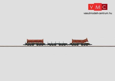 Märklin 82349 Schwerlastwagen-Set mit Ladegut Flanschrohre