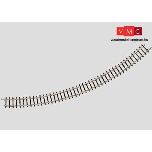 Märklin 8530 Íves sín, Radius 220 mm. 45° (Z)