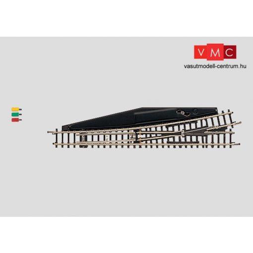 Märklin 8562 Elektromos balos váltó, 110 mm. 13°, Radius 490 mm (Z)