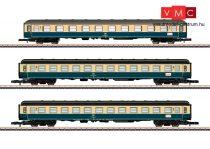 Märklin 87211 Személykocsi-készlet, 3-részes, négytengelyes Am 1. osztály, 2x Bm 2. osztály, DB (E4) (Z)