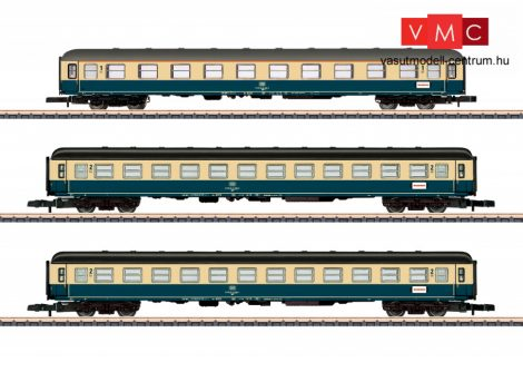 Marklin 87211 Személykocsi-készlet, 3-részes, négytengelyes Am 1. osztály, 2x Bm 2. osztály, DB (E4) (Z)