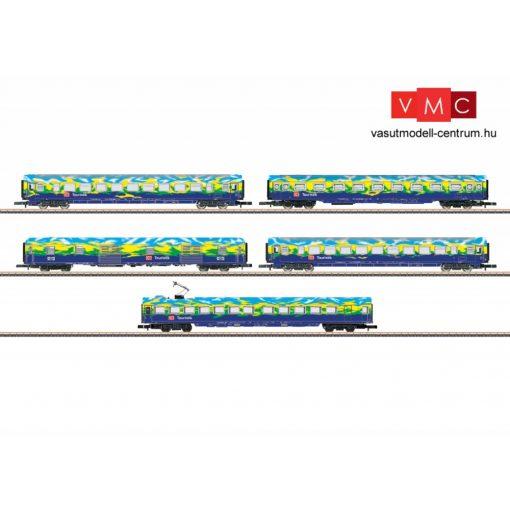 Märklin 87303 Személykocsi-készlet, 5-részes négytengelyes Touristikzug 2, DB-AG (E5) (Z)
