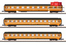 Märklin 87343 Személykocsi-készlet, 3-részes négytengelyes Eurofima, 1. osztály - 2x 2. osztály, ÖBB (E4) (Z)