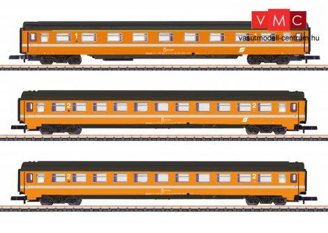 Marklin 87343 Személykocsi-készlet, 3-részes négytengelyes Eurofima, 1. osztály - 2x 2. osztály, ÖBB (E4) (Z)