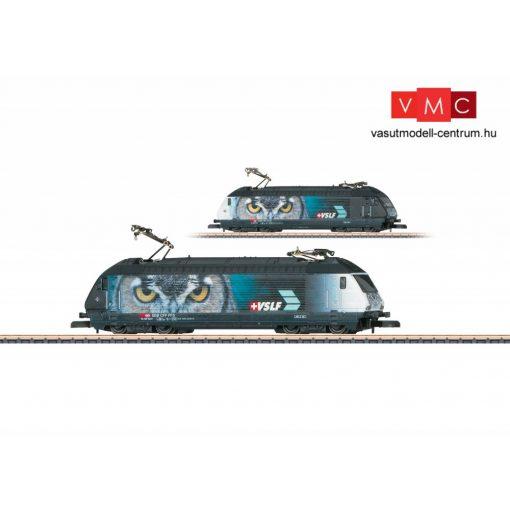 Märklin 88467 Villanymozdony Re 460, Verbandes Schweizer Lokführer (VSLF) reklámmal, SBB (E6