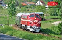 NMJ 91201 Dízelmozdony M61.004 Nohab, MÁV (E4) - Sound
