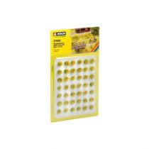 Noch 07036 Fűcsomók, mezei sárga virágok, 42 db - 6 mm