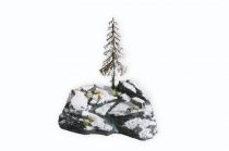 Noch 10013 Dioráma építőkészlet - Téli havas szikla (0,H0,TT,N,Z)
