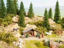 Noch 12027 Karácsonyi jászol (Betlehem), figurákkal (H0) - LC