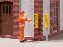 Noch 13521 Vasúti telefonberendezések, állványon/fali kivitel, 3D minis (0)