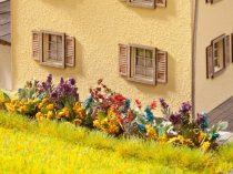 Noch 14050 Laser-Cut mini: virágoskert, 17 db növény