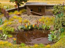 Noch 14052 Laser-Cut mini: vízi és vízparti növények, 17 db