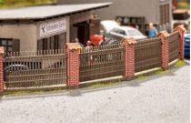 Noch 14235 Kerítés téglaoszlopokkal - LC (H0)