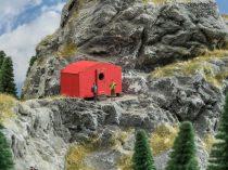 Noch 14238 Biwak, alpesi modern menedékház (H0) - LC