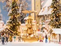 Noch 14395 Karácsonyi vásári piramis (H0) - LC