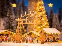 Noch 14681 Bejárati díszes boltív karácsonyi vásárhoz - LC (N)