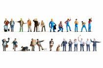 Noch 16109 Különböző foglalkozások XL-készlet, 24 db figura (H0)