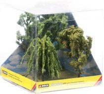 Noch 21008 Lombos fák (tölgy 15 cm, fűzfa 11 cm, madárberkenye 11,5 cm) (H0,TT)