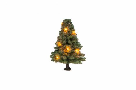 Noch 22111 Világító karácsonyfa, 10 LED, 5 cm magas (H0/TT/N/Z)