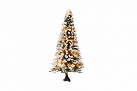 Noch 22130 Világító havas karácsonyfa, 30 LED (H0/TT)