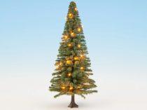 Noch 22131 Világító karácsonyfa, 30 LED, 12 cm  (0/H0/TT)