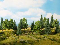 Noch 24622 Vegyes erdő, 6 db fa, 14 -18 cm (0,H0,TT)