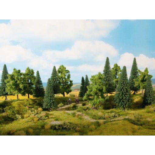 Noch 24623 Vegyes erdő, 16 db fa, 4 -10 cm (H0,TT,N,Z)
