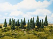 Noch 24640 Fenyőfa, 8 db, 10 -14 cm (H0,TT)