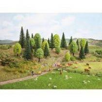 Noch 26004 Vegyes erdő (15 db), 5-9 cm (H0,TT)