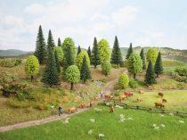Noch 26811 Vegyes erdő, 25 db, 5 - 14 cm (H0,TT)