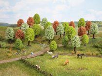 Noch 26906 Virágzó lombos fák, 10 db, 5 - 9 cm (H0,TT)