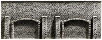 Noch 34858 Árkádos támfal, 19,8 × 7,4 cm