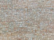 Noch 56642 3D-dekorlap: Mészkőfal, bézs (H0)