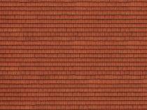 Noch 56670 3D-dekorlap: Tetőcserép, piros (H0)