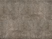 Noch 56691 3D-dekorlap: Hódfarkú tetőcserép, szürke (H0)