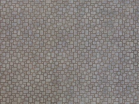 Noch 56722 3D-dekorlap: Modern kockakő útburkolat (H0)