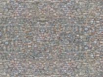 Noch 56940 3D-dekorlap: Bányakő fal, színes (N)