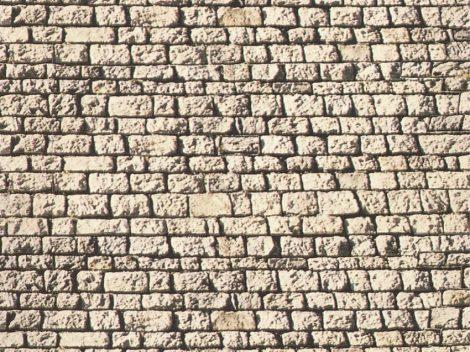 Noch 57560 Karton dekorlap, faragott kő, 32×15 cm