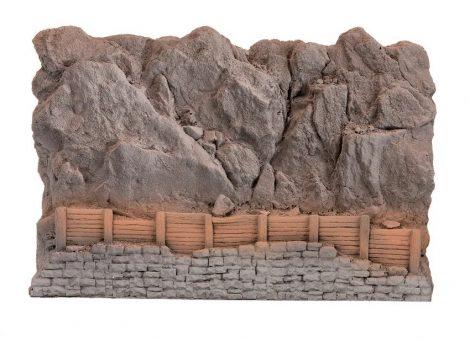 Noch 58152 Sziklafal kőomlás elleni palánkkal