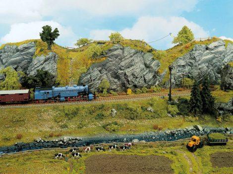 Noch 58490 Mészkő sziklalap, 32 x 18 cm