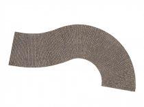 Noch 60316 Útburkolat: íves római kockakő 320 x 75 mm (H0)