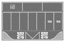 Noch 60720 Parkolóhelyek, betonszürke