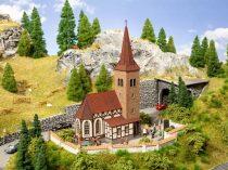 Noch 66906 Városi templom, St. Georg - micro-sound (H0) - LC