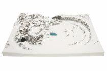 Noch 87045 Garmisch félkész terepasztal, téli táj (N)