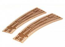 PECO 03241 ST-259 Ágyazat jobbos íves Setrack váltóhoz (H0) - Code 100 Setrack