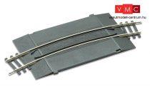 PECO 03290 ST-269 Íves egyvágányos útátjáró bővítmény, sorompóhoz, Nr.2 438 mm r (H0