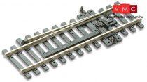 PECO 03550 SL-84 Járműsiklasztó vágányelem, jobbos, 98 mm (H0) - Code 100 Streamline
