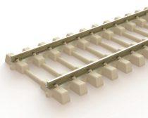 PECO 03825 PECO SL-106F Bi-Bloc betonaljas flexibilis sín, 914 mm hosszú, N/S - Code 75 Strea