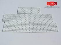 PS 10301 Támfal 100 x 40 mm, 5 db/csomag  (H0)